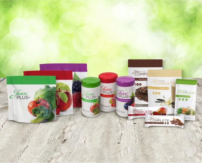 JuicePLUS+ produkterne